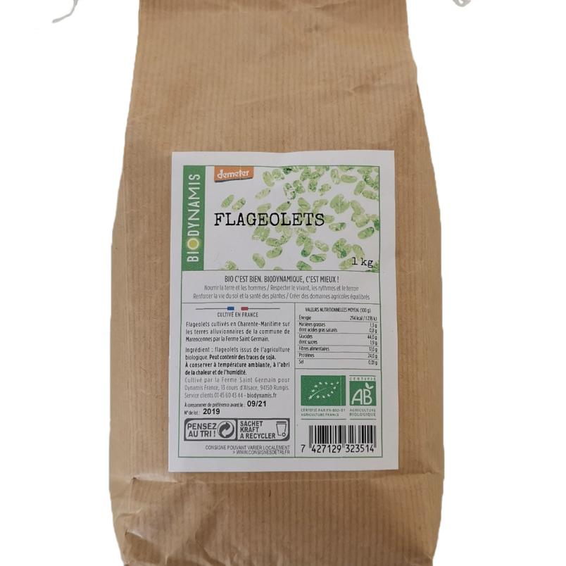flageolets - épicerie biodynamique