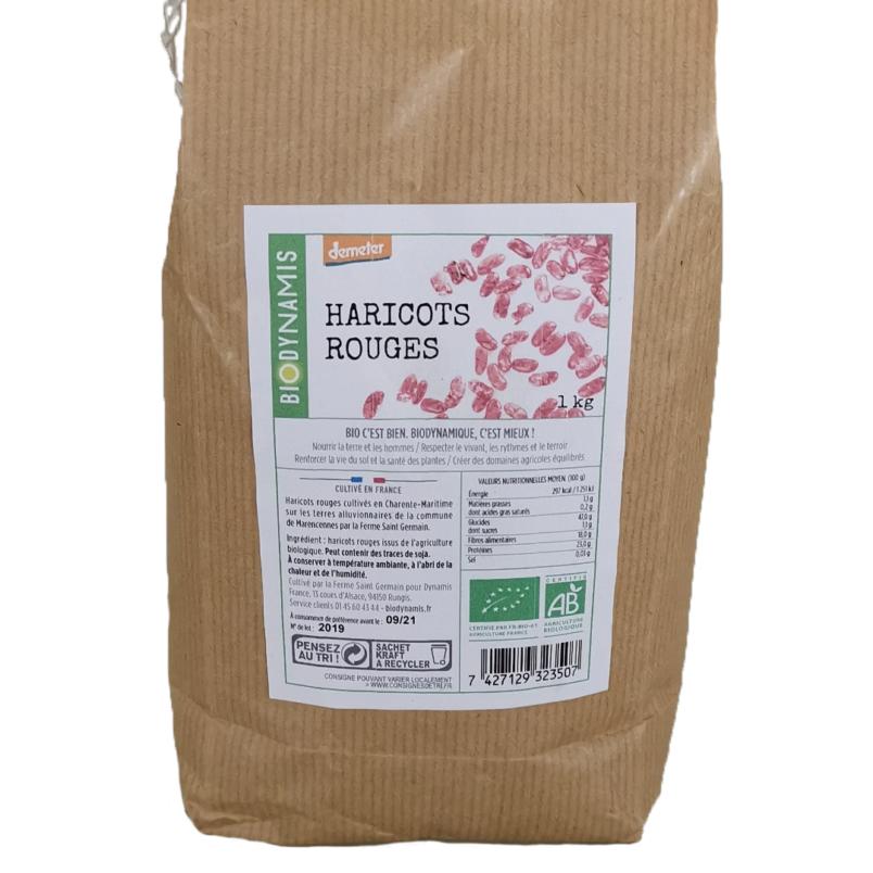 haricots rouges - épicerie biodynamique
